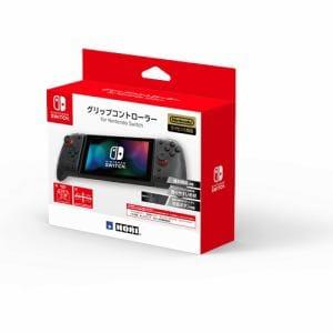 ホリ NSW-298 グリップコントローラー for Nintendo Switch   クリアブラック