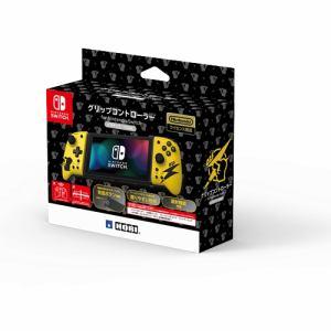 ホリ NSW-256 グリップコントローラー for Nintendo Switch   ピカチュウ-COOL