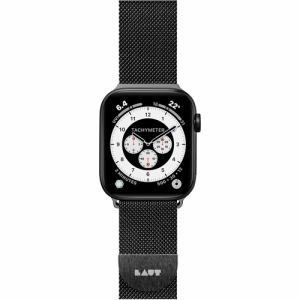LAUT LAUT_AWS_ST_BK Apple Watch 1/2/3/4 38/40mm BAND ブラック
