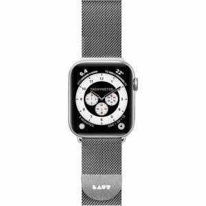 LAUT LAUT_AWS_ST_SL Apple Watch 1/2/3/4 38/40mm BAND シルバー