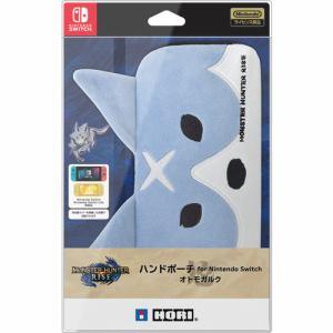 ホリ AD12-002 モンスターハンターライズ ハンドポーチ for Nintendo Switch   オトモガルク