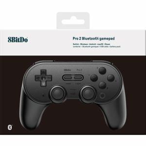 サイバーガジェット CY-8BDP2BG-BK 8BitDo Pro 2 Bluetooth gamepad Black Edition