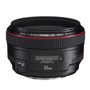 キヤノン Canon EF 50mm F1.2 L USM レンズ