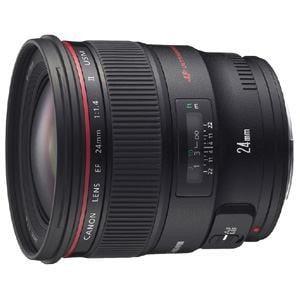 キヤノン Canon EF 24mm F1.4L II USM レンズ