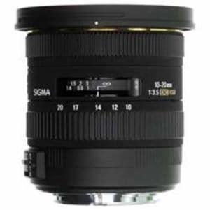 シグマ 交換レンズ 10-20mm F3.5 EX DC HSM (APS-C用キヤノンEFマウント)