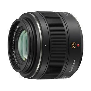 パナソニック LEICA DG SUMMILUX 25mm/F1.4 ASPH. H-X025レンズ