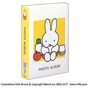 ナカバヤシ ディック・ブルーナ 「ミッフィー」 1PLポケットアルバム((Lサイズ3段300枚収納/イエロー)  1PL-158-Y
