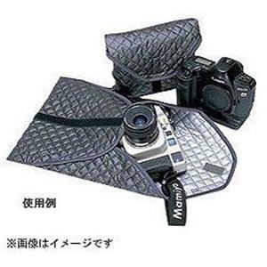 エツミ マジックテープ付 キルティングケースM E-5001