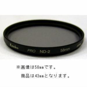 ケンコー・トキナー 43mm PRO-ND2 撮影用フィルター