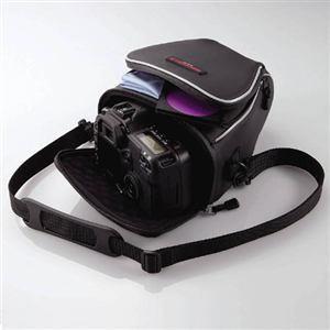 エレコム ZSB-SDG005BK 一眼レフカメラ用ケース
