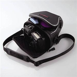 エレコム ZSB-SDG006BK 一眼レフカメラ用ケース