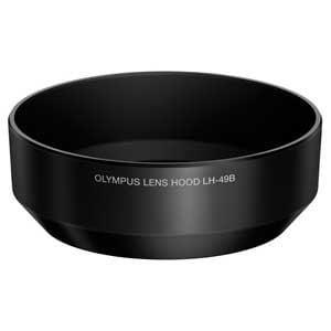 Olympus M.ZUIKO DIGITAL 25mm F1.8専用レンズフード ブラック LH-49B(BLK)