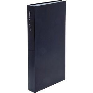 ナカバヤシ L判 超透明ポケットアルバム(ブラック) 300枚 CTPL-300-BK