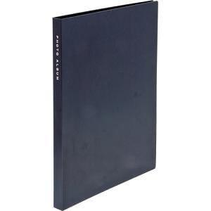 ナカバヤシ 2L判 超透明ポケットアルバム(ブラック) 80枚 CTP2L-80-BK