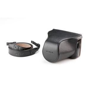 ペンタックス 一眼カメラケース (フロント付き) Q-S1専用 / ブラック O-CC1512(BK)