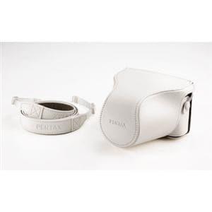ペンタックス 一眼カメラケース (フロント付き) Q-S1専用 / クリーム O-CC1512(CR)