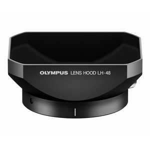 オリンパス 金属レンズフード ブラック LH-48-BLK