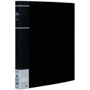 ナカバヤシ L判 3段 2列 240枚収納 ポケットアルバム(ブラック) PH6L-1024-D