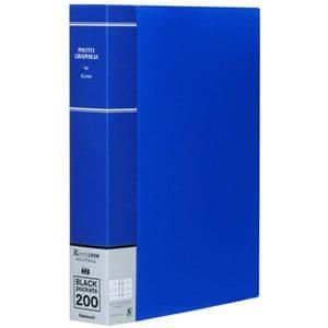 ナカバヤシ 2L判 200枚収納 ポケットアルバム(ブルー) PH2L-1020-B