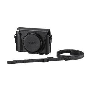 ソニー 「HX90V」「WX500」用ジャケットケース(ブラック) LCJ-HWA-B