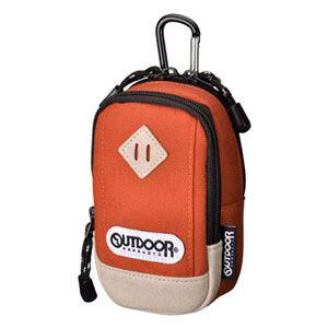 アウトドア(OUTDOOR) カメラポーチ 01 オレンジ ODCP01OR