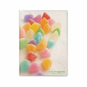 ハクバ Pポケットアルバム NP ポストカードサイズ 20枚収納 キャンディ2 APNP-PC20-CA2