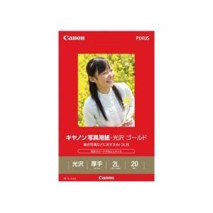 キヤノン GL-1012L20 【純正】写真用紙・光沢 ゴールド 2L判 20枚