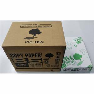 シャープ PPCB5M コピー用紙 B5サイズ  500枚