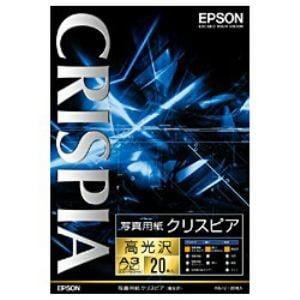 エプソン KA3N20SCKR 【純正】A3ノビ 写真用紙(高光沢 20枚)