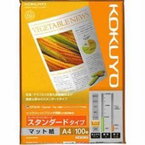コクヨ インクジェットプリンタ用紙 スーパーファイングレード スタンダード A4 100枚 KJM17A4100