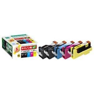 エコリカ ECI-C320+3215P/BOX キヤノン BCI-321+320/5MP 互換リサイクルインクカートリッジ 4色パック+320PGBK互換
