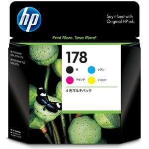 ヒューレット・パッカード CR281AA 【純正】 HP178 インクカートリッジ 4色