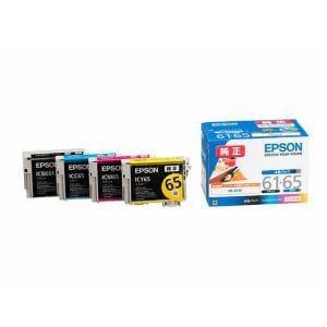 エプソン IC4CL6165 【純正】インクカートリッジ 4色セット インク