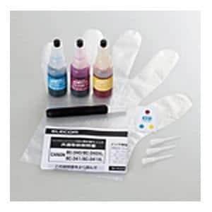 エレコム THC-341CSET8 キヤノン BC-341/BC-341XL対応 つめかえインク 3色セット