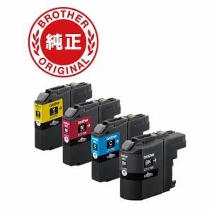 インクカートリッジ  大容量タイプ  お徳用4色パック(ブラック・シアン・イエロー・マゼンタ)LC117/115-4PK