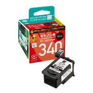 エコリカ ECI-C340B-V キヤノン用リサイクルインク(ブラック)