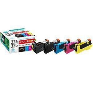 エコリカ ECI-C325+3265P/BOX キヤノン BCI-326+325/5MP 5色パック対応 互換 リサイクルインクカートリッジ