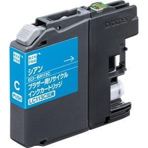 エコリカ ECI-BR113C ブラザー用リサイクルインク(シアン)LC113C