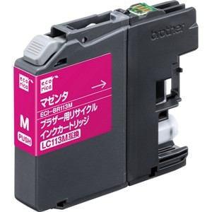 エコリカ ECI-BR113M ブラザー用リサイクルインク(マゼンタ)LC113M
