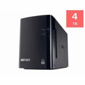 バッファロー HDWL4TU3R1J 外付けハードディスク 4TB USB3.0対応 HD-WL4TU3/R1J ミラーリング機能搭載