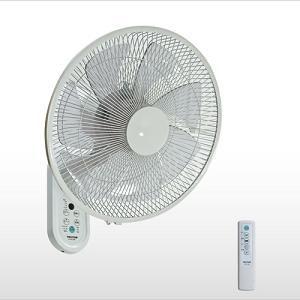 テクノス KI-DC366 35cmDCモーター壁掛けフルリモコン扇風機 ホワイト