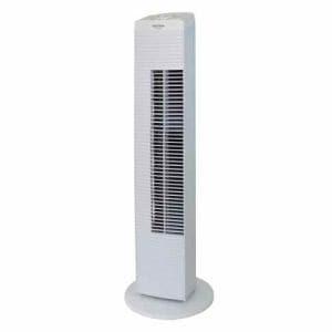 テクノス TF-820-W TEKNOS メカ式タワー扇風機 ホワイト