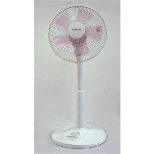 フィフティ FLET307YDP メカ式リビング扇風機   ピンク