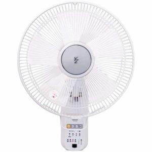 ヤマゼン YWX-K305-W リモコン付壁掛け式扇風機 ホワイト
