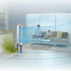 ダイソン TP04WSN 空気清浄タワーファン Dyson Pure Cool  ホワイト/シルバー