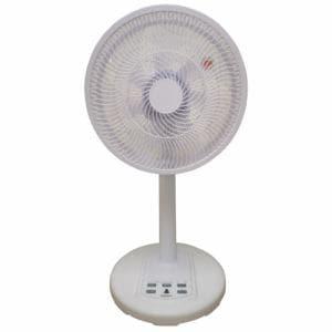 エスケイジャパン SLC301DCR 扇風機 ホワイト