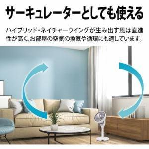 シャープ PJ-N2DS 3Dファン プラズマクラスター扇風機 ホワイト