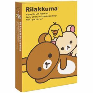 ナカバヤシ 1PL-1505-1 L判3段ポケットアルバム 180枚収納(リラックマA)
