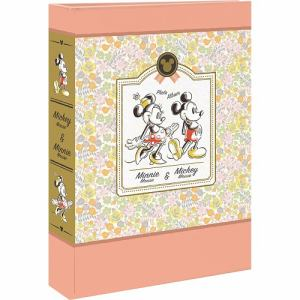 ナカバヤシ 1PL-1503-1 L判3段ポケットアルバム 180枚収納(ミッキー&ミニー)