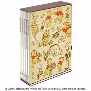 ナカバヤシ ア-PL-1031-3 5冊BOXポケットアルバム くまのプーさん L判3段210枚収納